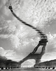 Distorsion optique, 1965 by Robert Doisneau