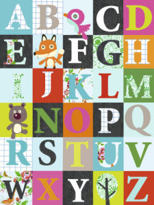 Alphabet by Virginie Graire