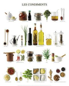 Les condiments by Atelier