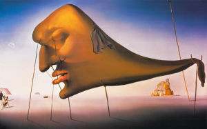 Sleep by Salvador Dali