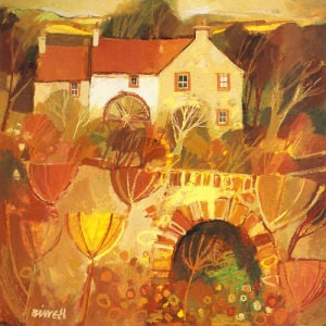 Mill Bridge, Orkney by George Birrell