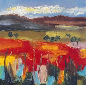 Windy Day,Glen Falloch by Judith I. Bridgland