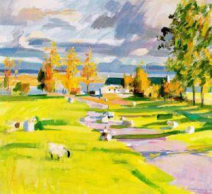 Evening, Ardnamurchan by John Cunningham