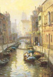 Autumn Haze,Venice by Ivars Jansons