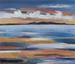 Beach at Ayr by Judith I. Bridgland