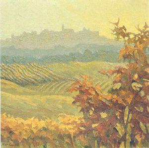 Piemonte, Autumn in Diano d'Alba by Alan Cotton