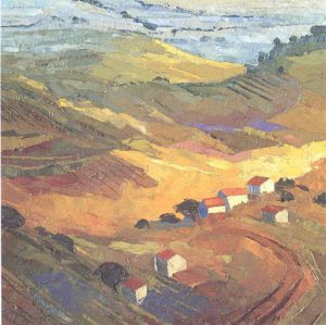 Provence, Luberon Lavender Fields by Alan Cotton