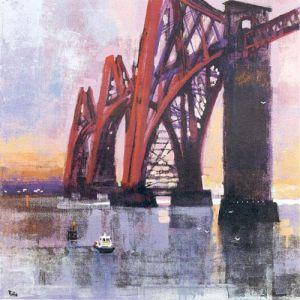 Forth Rail Bridge by Colin Ruffell