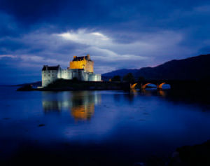 Eilean Donan Castle by Ian M. Young