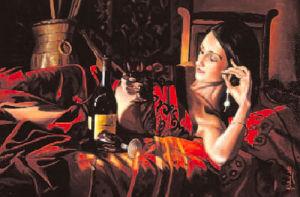 Vin Rosu by John Luce Lockett