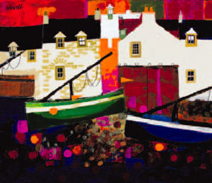 Low Tide, Evening by George Birrell