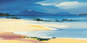 Eigg from Kilmory by Pam Carter