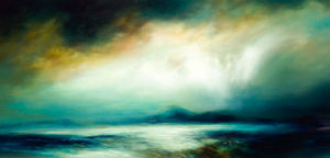 Cloud Fall by Kirstie Cohen
