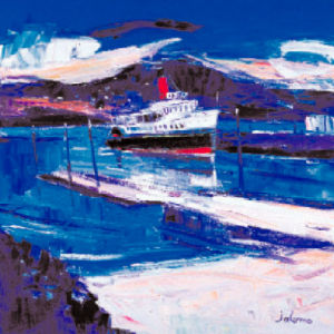 Maid of the loch at Balloch by John Lowrie Morrison