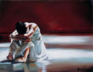 Crying Ballerina by Gavin Penn