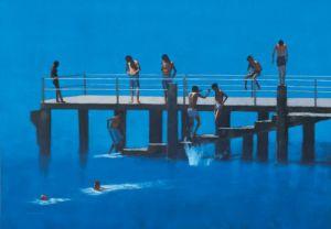 The Pier - Passignano by Peter Nardini