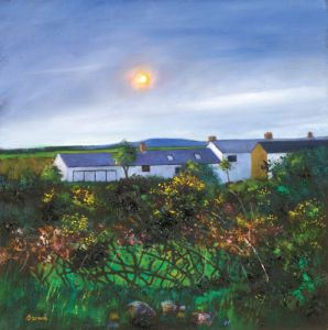 Cornish cottage by Davy Brown
