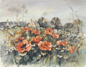 Poppy Cottage by Perri Duncan