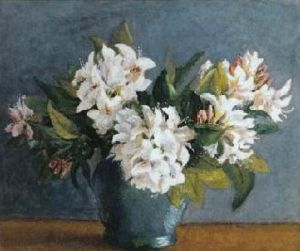 Rhododendrons by Arthur Hacker
