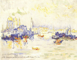 Venice, 1909 by Paul Signac