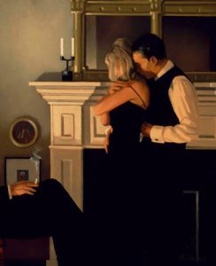 Beautiful Losers II (Detail) by Jack Vettriano