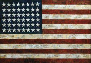Flag 1954 by Jasper Johns