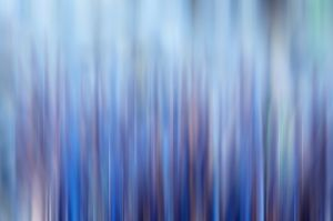 Blue And Purple Abstract by Richard Osbourne