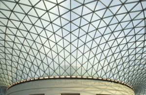 British Museum Glass Roof by Richard Osbourne