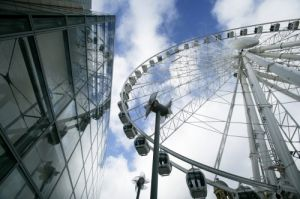 Manchester Ferris Wheel by Richard Osbourne
