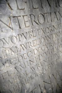 Roman Inscription II by Richard Osbourne