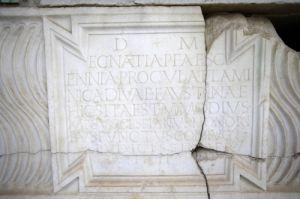 Roman Inscription III by Richard Osbourne