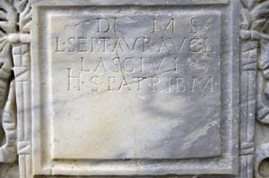Roman Inscription V by Richard Osbourne