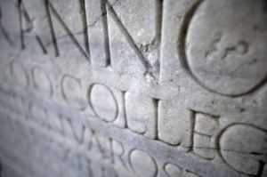 Roman Inscription VI by Richard Osbourne