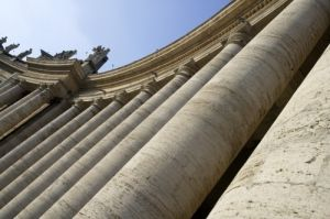 Rome - Saint Peter's Square by Richard Osbourne