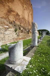 Ostia - Roman Ruins by Richard Osbourne