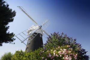 Norfolk Windmill I by Richard Osbourne