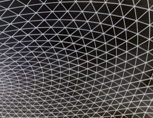British Museum Roof Detail by Richard Osbourne