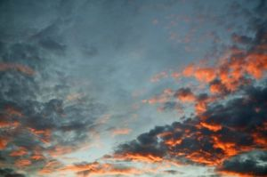Sunset Clouds I by Richard Osbourne