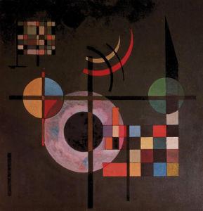 Counter Gravitation by Wassily Kandinsky
