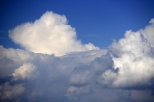 Cumulus Clouds II by Richard Osbourne
