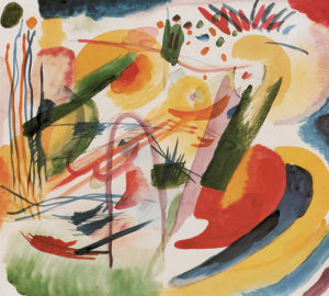 Without Title by Wassily Kandinsky