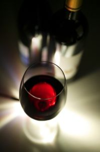 Red Wine II by Richard Osbourne
