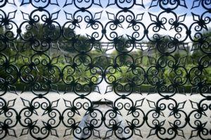 Alnwick Garden - Venetian Gates by Richard Osbourne
