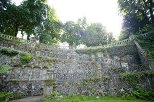 Victorian Garden IV by Richard Osbourne