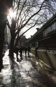 London - Sunshine After Rain by Richard Osbourne