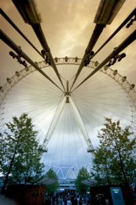 London - Millennium Wheel II by Richard Osbourne