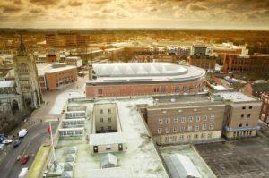 Norwich Cityscape II by Richard Osbourne