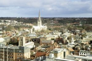 Norwich Cityscape III by Richard Osbourne