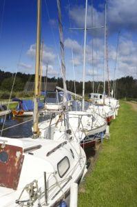 Boats - Horsey Mere, Norfolk by Richard Osbourne