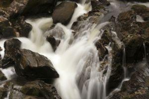 Scottish Waterfall III by Richard Osbourne